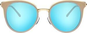 Turkusowe okulary damskie Moretti