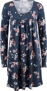 Sukienka bonprix bpc bonprix collection z długim rękawem midi