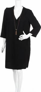 Sukienka Violeta By Mango z długim rękawem prosta mini