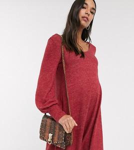 Czerwona sukienka Asos oversize