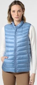 Niebieska kamizelka brookshire krótka w stylu casual