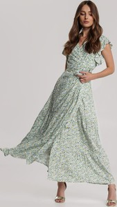 Sukienka Renee z dekoltem w kształcie litery v maxi
