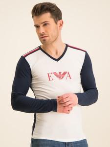 Koszulka z długim rękawem Emporio Armani z długim rękawem