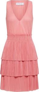 Różowa sukienka Ivyrevel bez rękawów