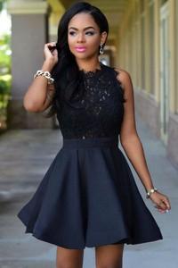 Granatowa sukienka Estera