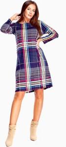 Sukienka Fro-ma w stylu casual z długim rękawem
