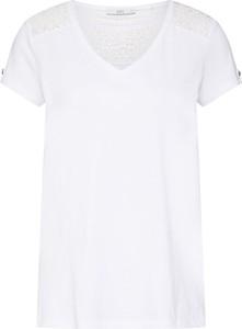 Bluzka edc by Esprit z krótkim rękawem