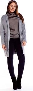 Płaszcz Ptakmoda.com w stylu casual z tkaniny