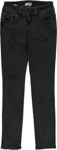 Czarne jeansy LTB z bawełny w stylu casual