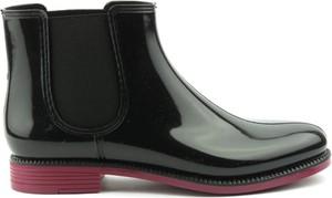 Czarne botki Nordman w stylu casual