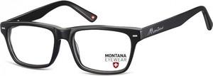 Stylion Okulary oprawki optyczne, korekcyjne Montana MA73 nerdy wayfarer czarne