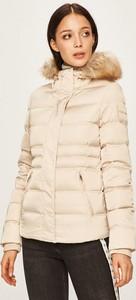 Kurtka Calvin Klein w stylu casual krótka z tkaniny
