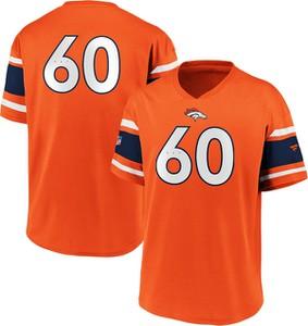 Pomarańczowy t-shirt Emp w młodzieżowym stylu
