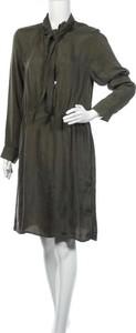 Zielona sukienka Seidensticker koszulowa mini