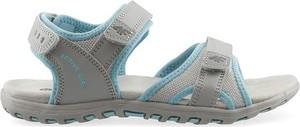 Buty dziecięce letnie 4F na rzepy ze skóry