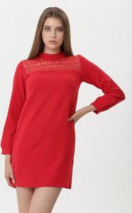 Sukienka born2be z długim rękawem w stylu casual mini