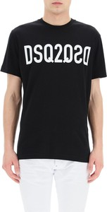Czarny t-shirt Dsquared2
