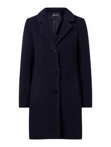Granatowy płaszcz Milo Coats w stylu casual