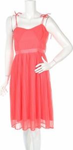 Pomarańczowa sukienka Anna Field midi