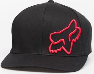 Czarna czapka Fox