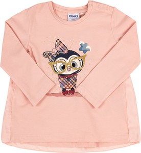 Różowa bluzka dziecięca Primigi