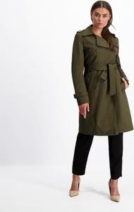 Zielony płaszcz Lavard