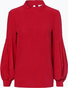 Czerwona bluzka Louis & Mia z jedwabiu