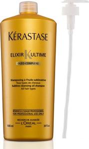 Kerastase Elixir Ultime Oleo Complex Bain   Kąpiel do każdego rodzaju włosów - 1000ml + POMPKA W PREZENCIE! - Wysyłka w 24H!