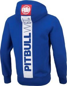 Niebieska bluza Pit Bull w młodzieżowym stylu