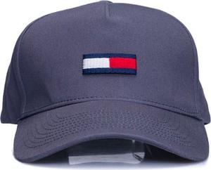 Fioletowa czapka Hilfiger Denim