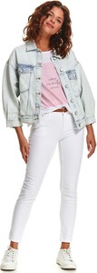 Kurtka Top Secret z jeansu w stylu casual