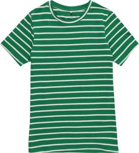Zielona bluzka dziecięca Name it z dżerseju