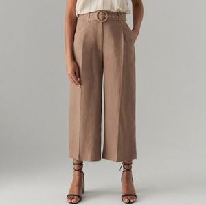 Brązowe spodnie Mohito