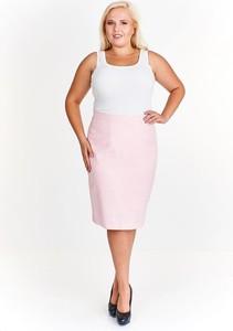 Różowa spódnica Fokus