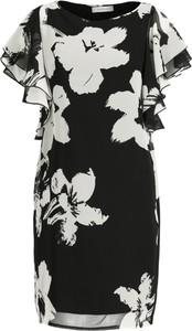 Sukienka Marella z krótkim rękawem z okrągłym dekoltem mini