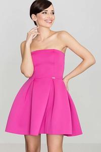 Różowa sukienka Katrus mini
