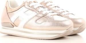 Buty sportowe Hogan w młodzieżowym stylu ze skóry
