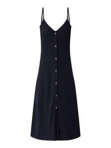 Sukienka Esprit z dekoltem w kształcie litery v na ramiączkach z bawełny