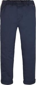 Niebieskie spodnie dziecięce Tommy Hilfiger