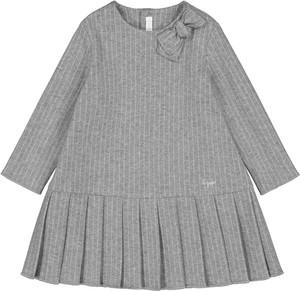Sukienka dziewczęca Il Gufo z bawełny w paseczki