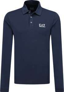 Koszulka polo Emporio Armani z długim rękawem