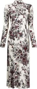 Sukienka Paco Rabanne z długim rękawem maxi