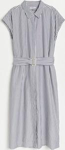 Sukienka Reserved w stylu casual mini z bawełny