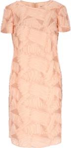 Różowa sukienka L'AF mini w stylu casual
