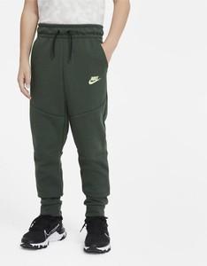 Zielone spodnie dziecięce Nike
