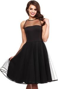 Czarna sukienka MOE bez rękawów