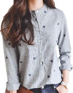 Koszula Yaze z lnu w stylu casual