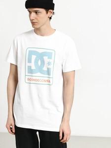 T-shirt DC Shoes z nadrukiem z bawełny