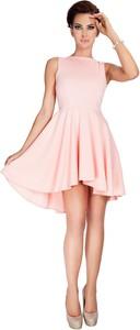 Różowa sukienka NUMOCO rozkloszowana