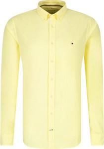 Żółta koszula Tommy Hilfiger